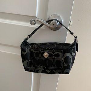 Authentic Coach Optic Signature Handbag